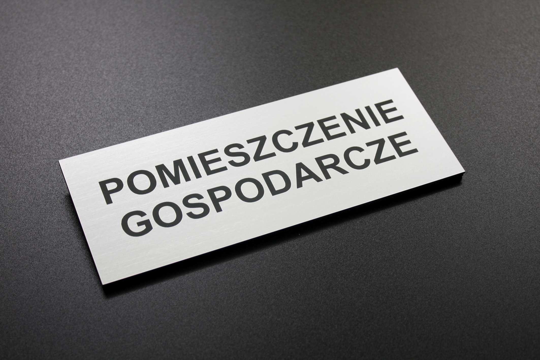 Nowość tabliczka grawerowana, tabliczka na drzwi, tabliczka z laminatu TV25